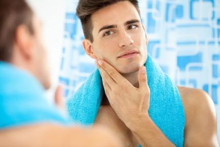 Homme types de peaux