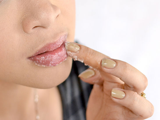 DIY Beauté été exfoliant pour lèvres