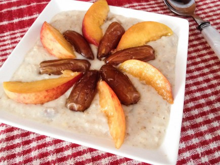 Porridge aux flocons d'avoine cover