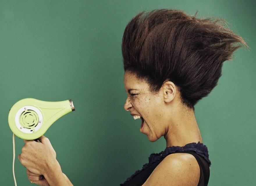 cheveux éviter la chaleur