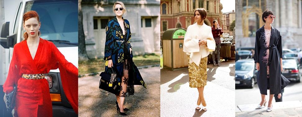 kimono à la fête