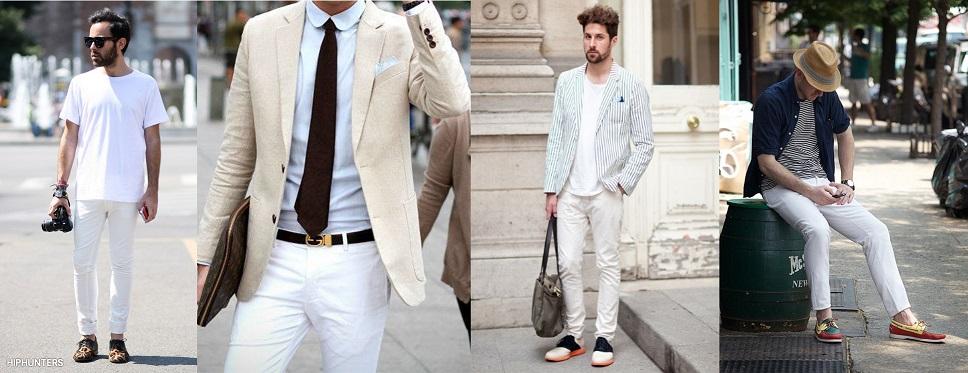 pantalon blanc 4 looks adopter cet t paperbagg. Black Bedroom Furniture Sets. Home Design Ideas