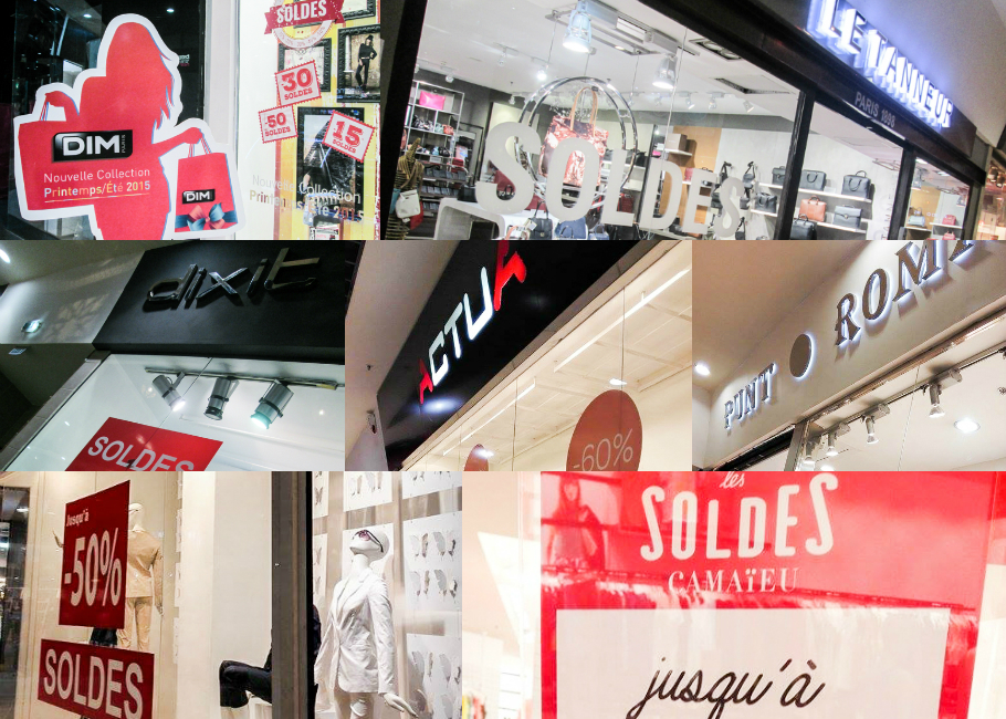 soldes vêtements et accessoires femmes