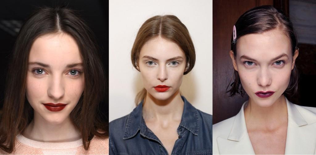 Makeup automnale lèvres à la fête