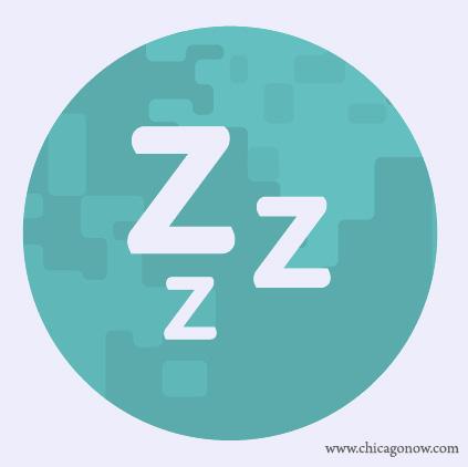 restez calme et dormez sur le coté zzz