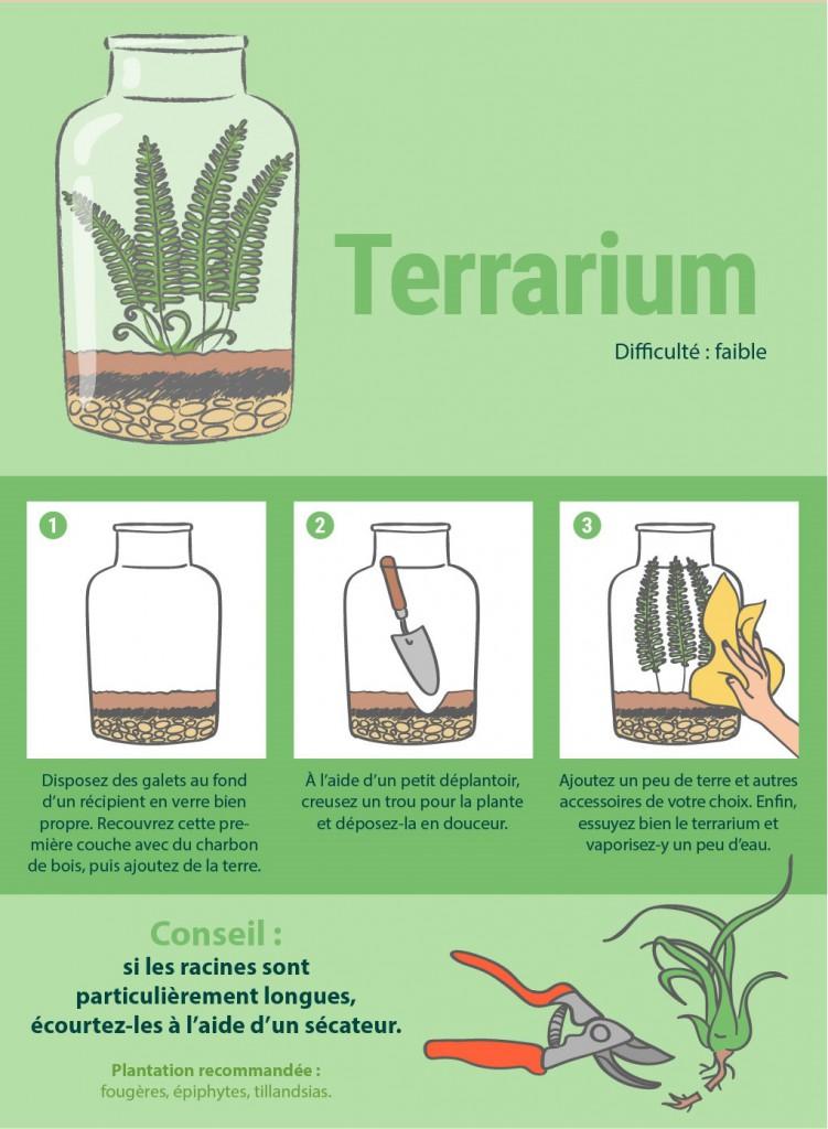 8 façons originales de présenter vos plantes d'intérieur 3
