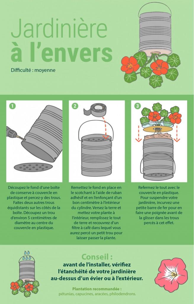 8 façons originales de présenter vos plantes d'intérieur 6