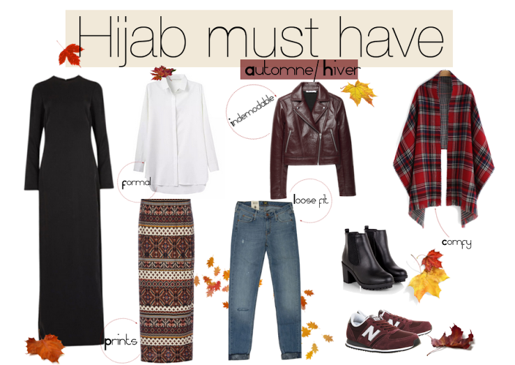 Hijab must have automne hiver paperbagg Fashion style girl hiver 2015