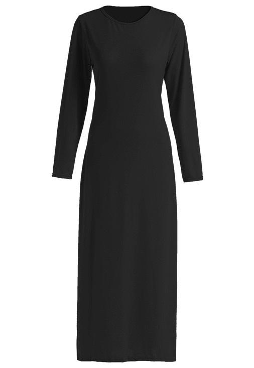 Hijab must have. automne hiver 2015 la longue robe noire