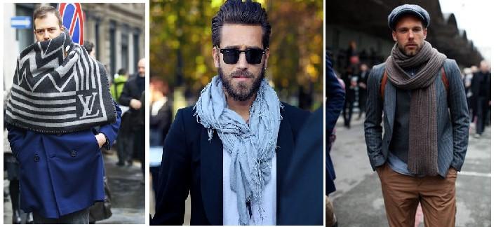 Look sportswear porter l'écharpe (hommes)