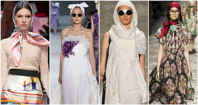 Tendances accessoires automne hiver 2015 foulard en soie