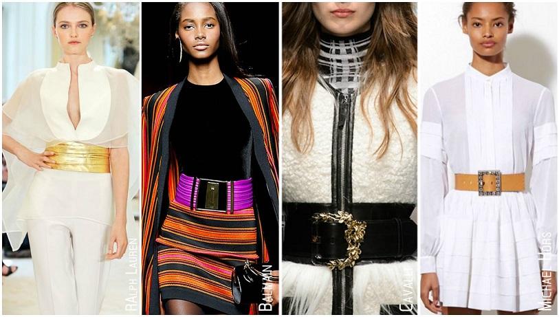 Tendances accessoires automne hiver 2015 larges ceintures