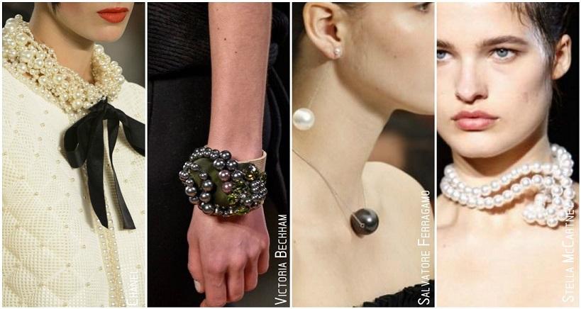 Tendances accessoires automne hiver 2015 perles