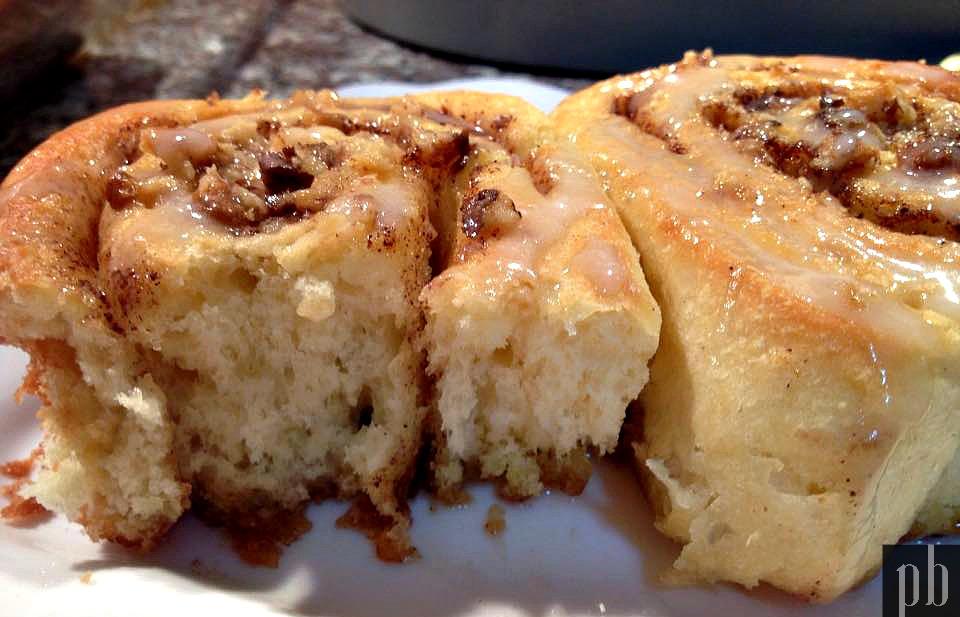 Comfort food: Cinnamon rolls (Brioche à la cannelle)