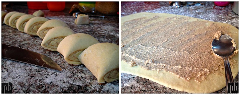 Cinnamon rolls préparation pâte