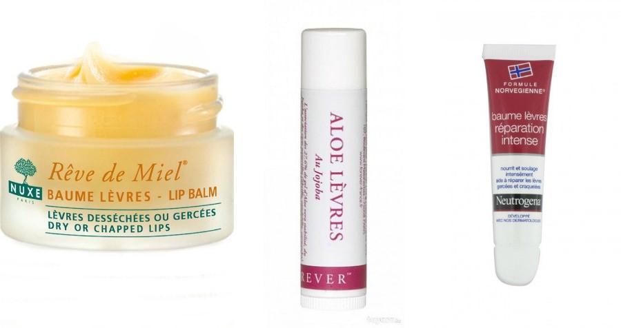 Les 5 Indispensables soins de l'Automne Hiver baume à lèvres
