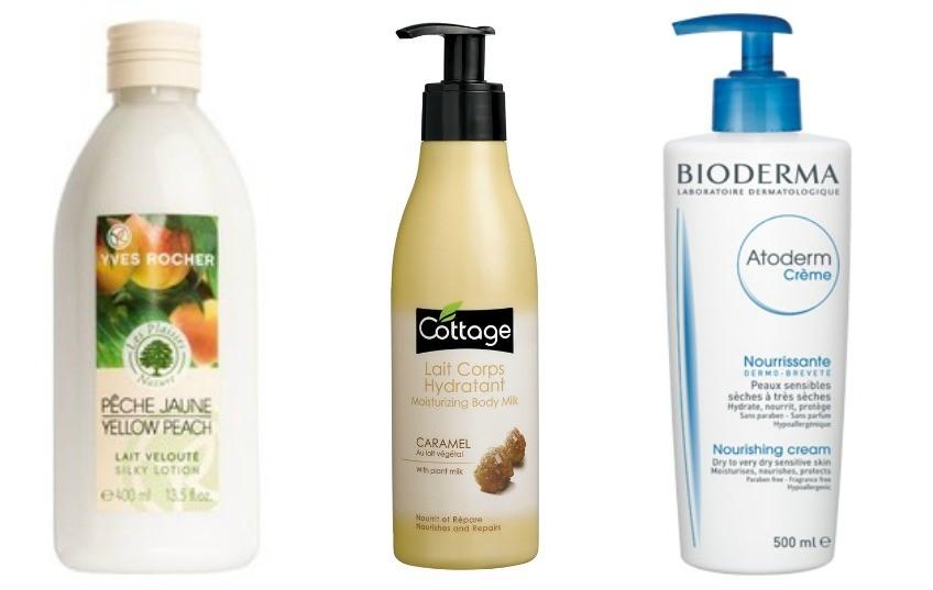 Les 5 Indispensables soins de l'Automne Hiver hydratant corporel
