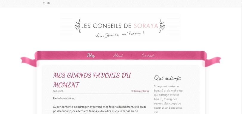 Favoris de la Rédaction (Novembre) Blog les conseils de Soraya