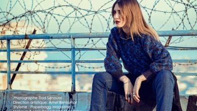 Fashion Editorial Hiver Algérien : sur les terrasses d'Alger