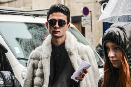 Paris Men's Fashion Week 2016 Street Style, CHRISTIAN DADA