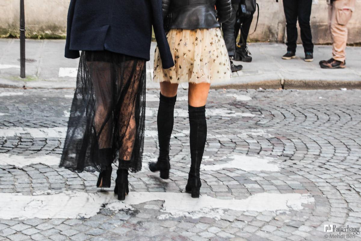 Paris Men S Fashion Week 2016 Street Style Valentino Paperbagg