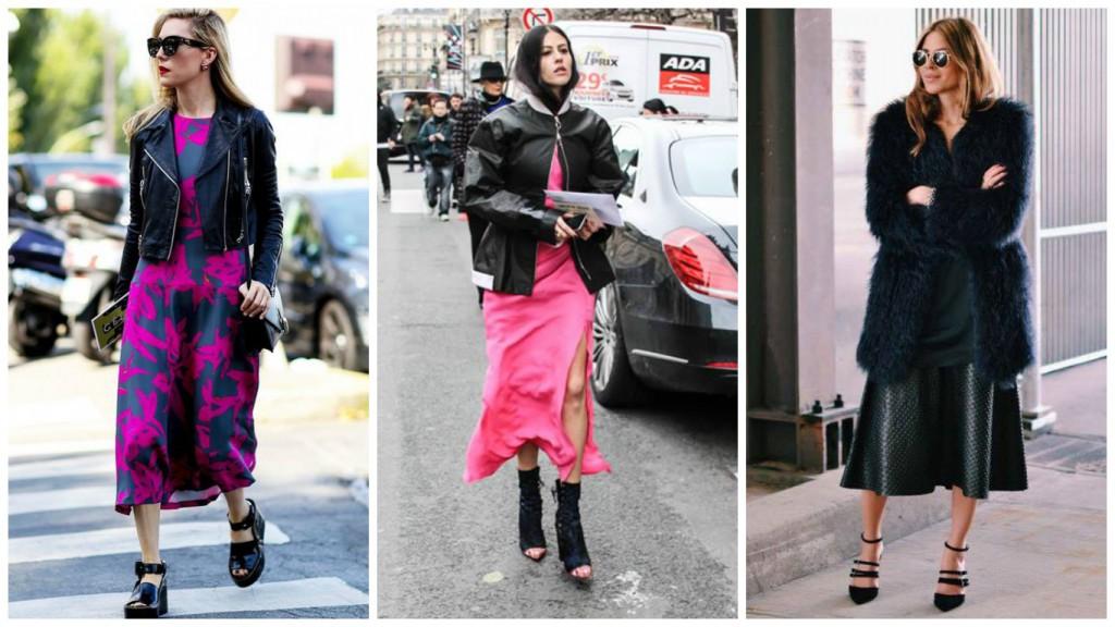 Midi Dress, comment porter ce Must have Printemps Été 2016 Rock'n'roll