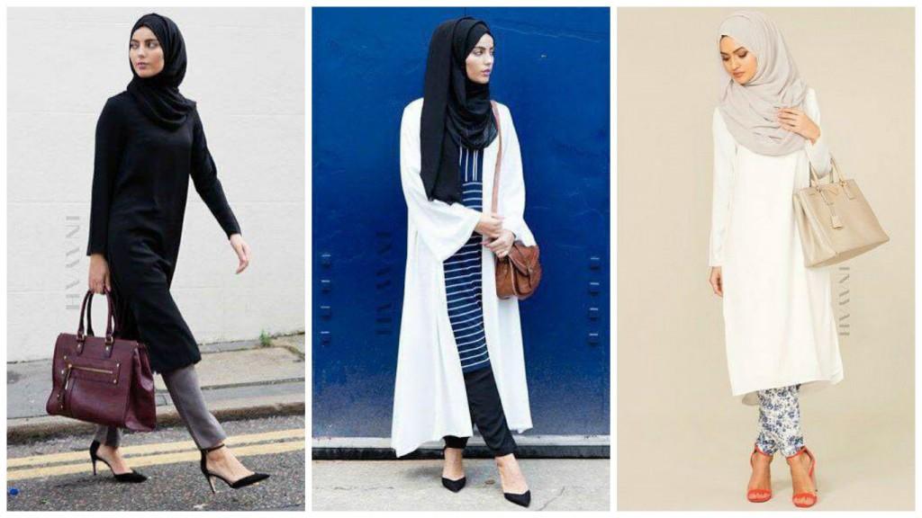 Midi Dress, comment porter ce Must have Printemps Été 2016 hijab style