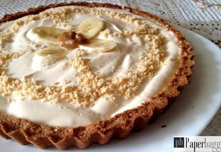 Tarte à la banane et à la crème caramel (1)