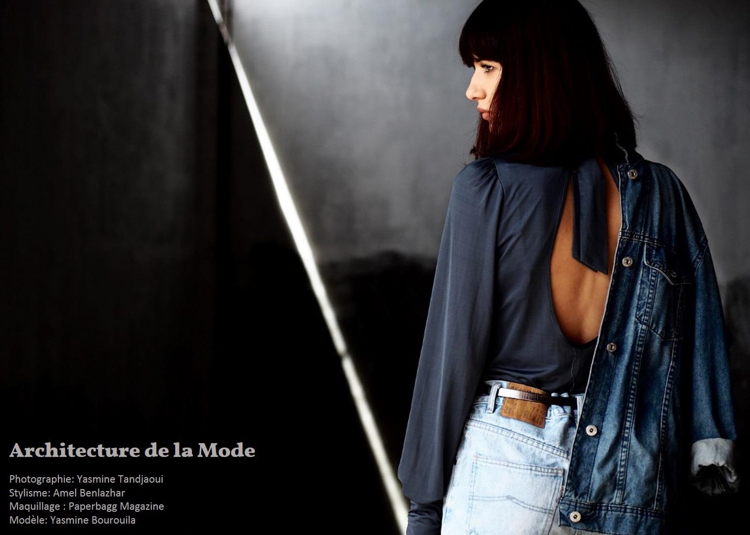 Fashion Editorial : Architecture de la mode