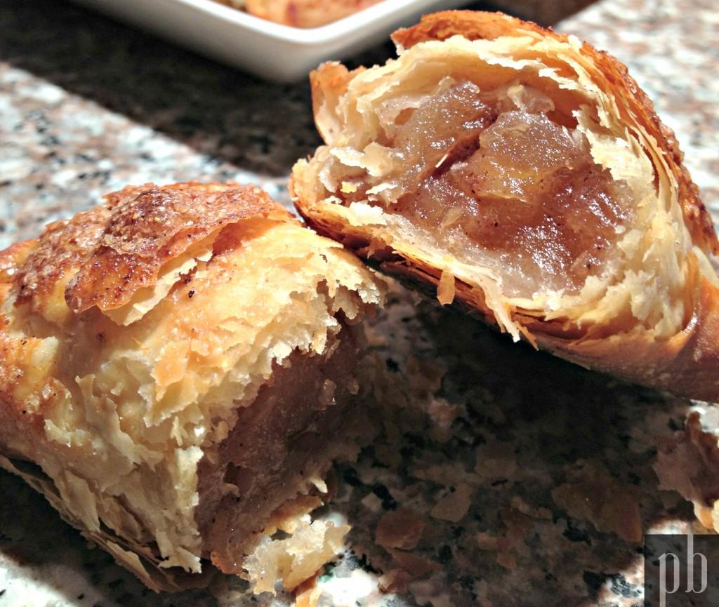 Irr sistibles feuillet s aux pommes paperbagg - Feuillete aux pommes caramelisees ...