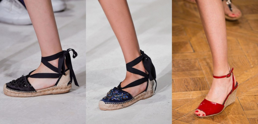 af904a01a50 Les espadrilles   Tendances Chaussures Printemps Été 2016 espadrilles