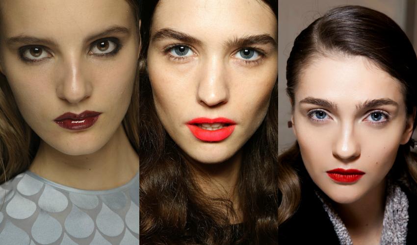 tendances beauté printemps été 2016 lèvres rouges