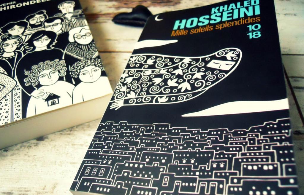 1 mois 3 livres Avril vous réduira le cœur en miettes Mille soleils splendides, Khaled Hosseini