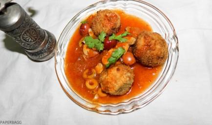 Boulettes d'Artichaut en sauce Napolitaine cover
