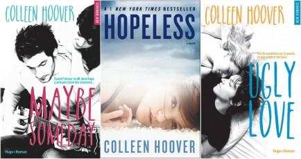 1 mois 3 livres l'auteur Colleen Hoover à l'honneur