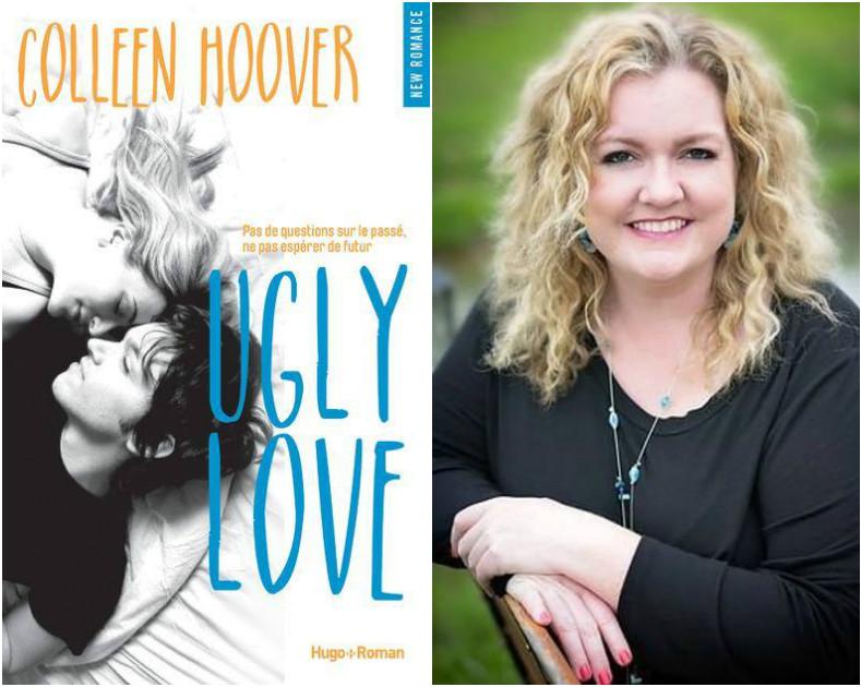 1 mois 3 livres  l'auteur Colleen Hoover à l'honneur Ugly Love cover