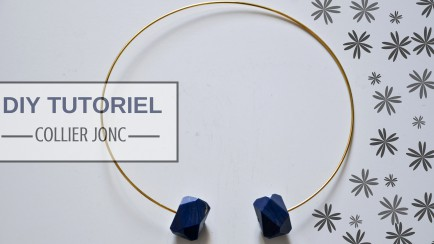 DIY Tutoriel Collier Jonc cover