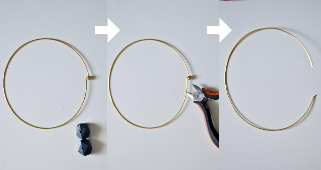 DIY Tutoriel Collier Jonc méthode