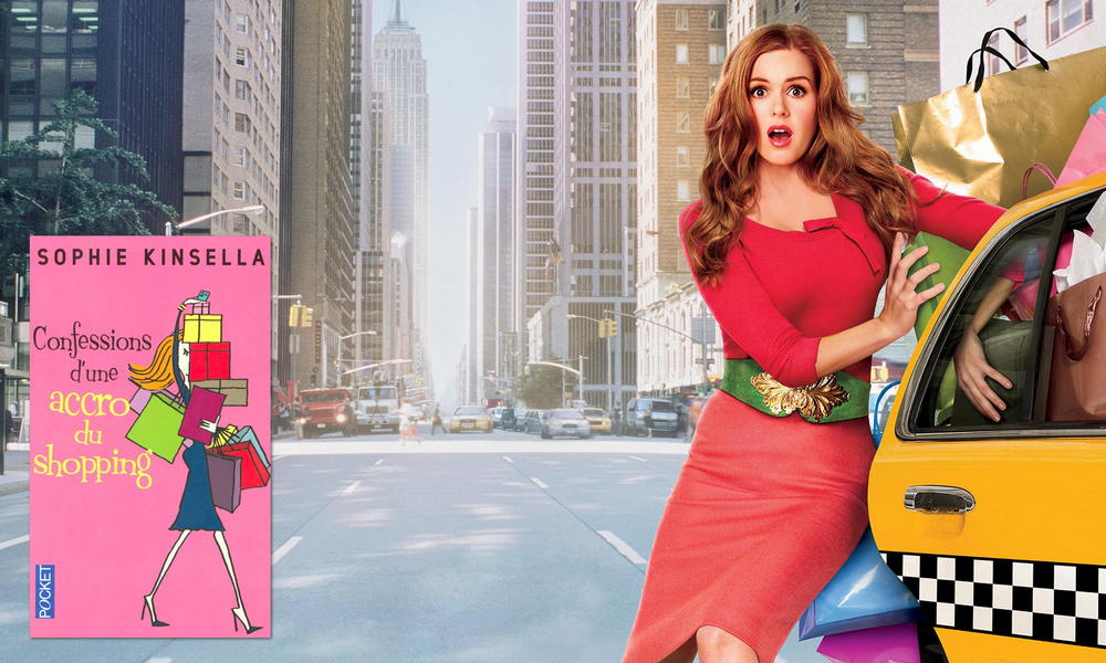 The book is (not) always better Confessions d'une accro du shopping, de Sophie Kinsella