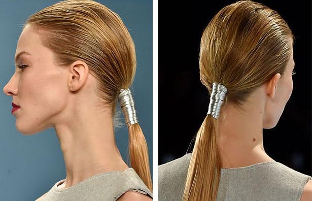 Tendance coiffure 5 façons de porter la queue de cheval basse