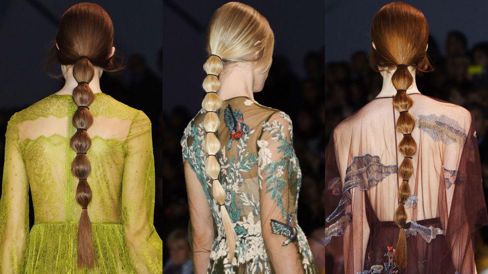 Tendance coiffure  5 façons de porter la queue de cheval bubble