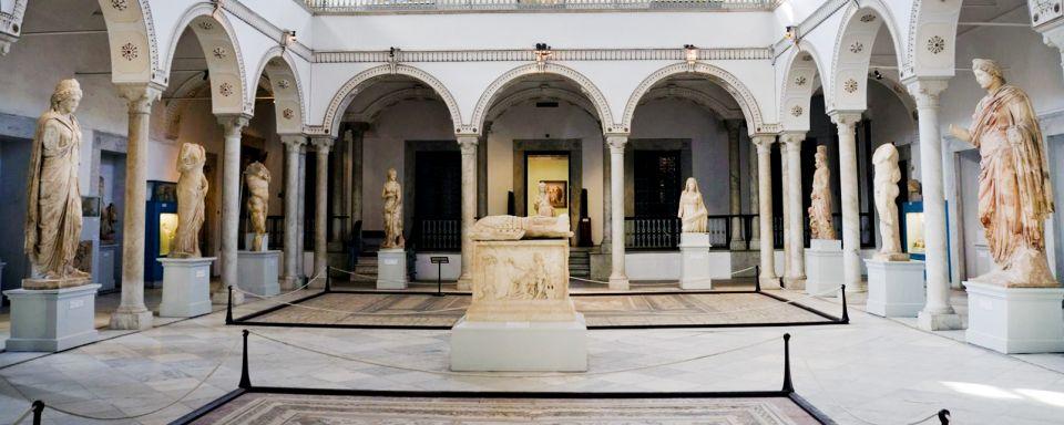 Carnet de voyage  5 activités Must Try en Tunisie musée du bardo