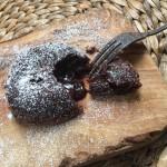 Histoires gourmandes des recettes pour lire, Chapitre I le fondant au chocolat cover