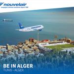 Nouvelair Tunisie inaugure sa liaisons Alger-Tunis