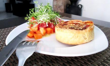 Summer Food La Quiche Estivale cover