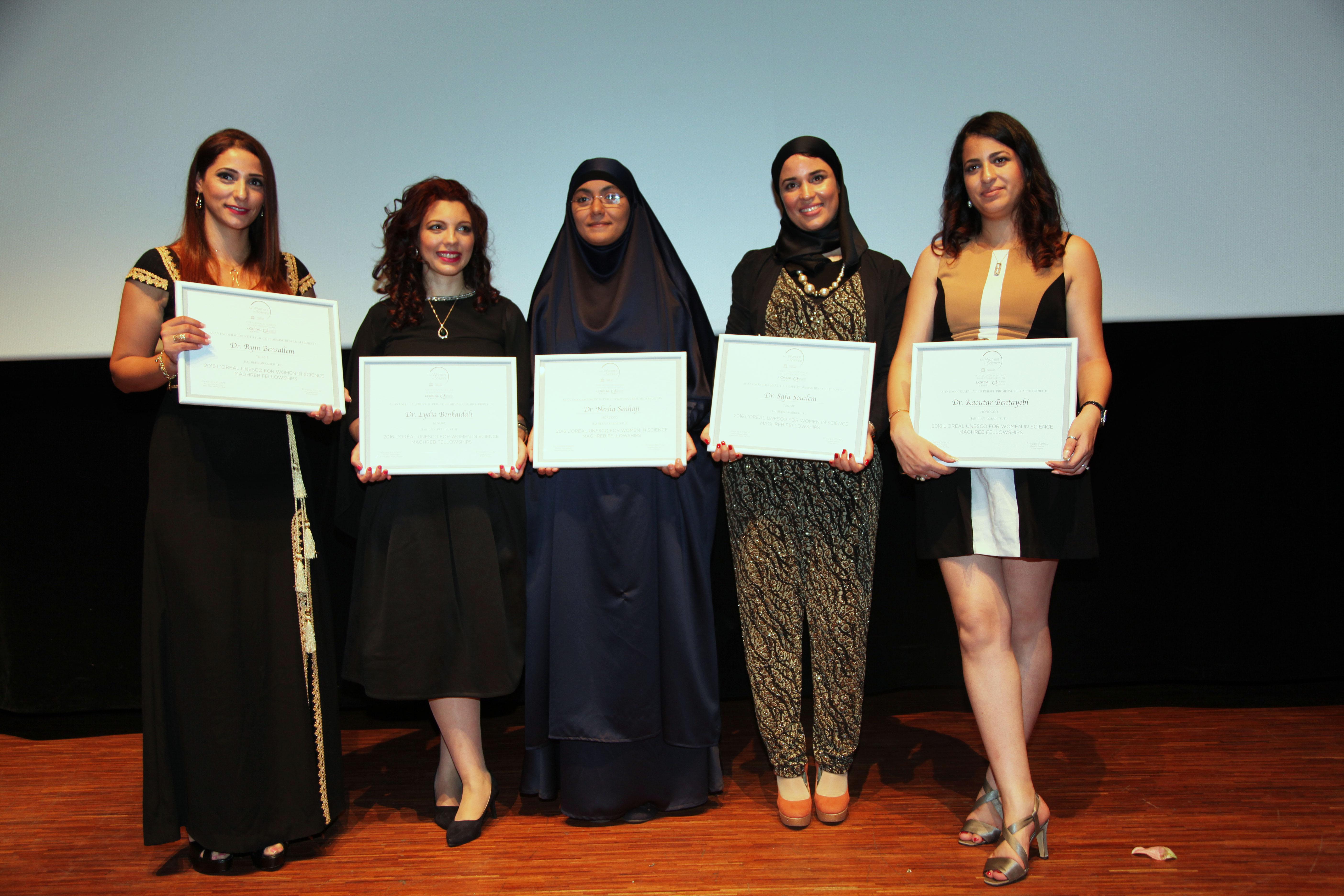 Bourse L'Oréal « Pour les Femmes et la Science au Maghreb 2016 »
