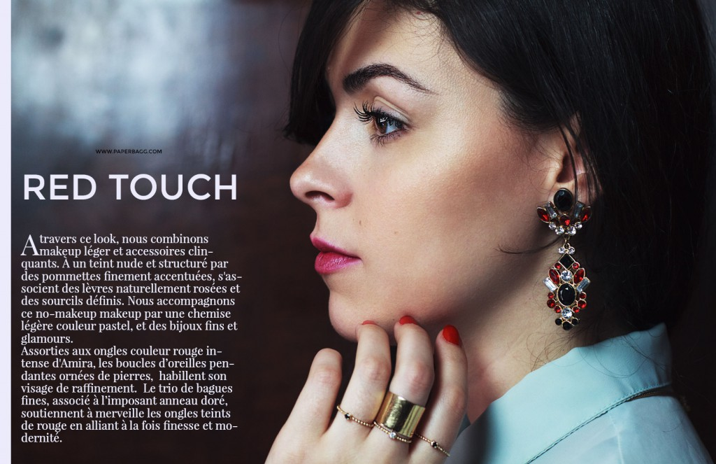 EDITORIAL Into Amira's Quiet world red touch