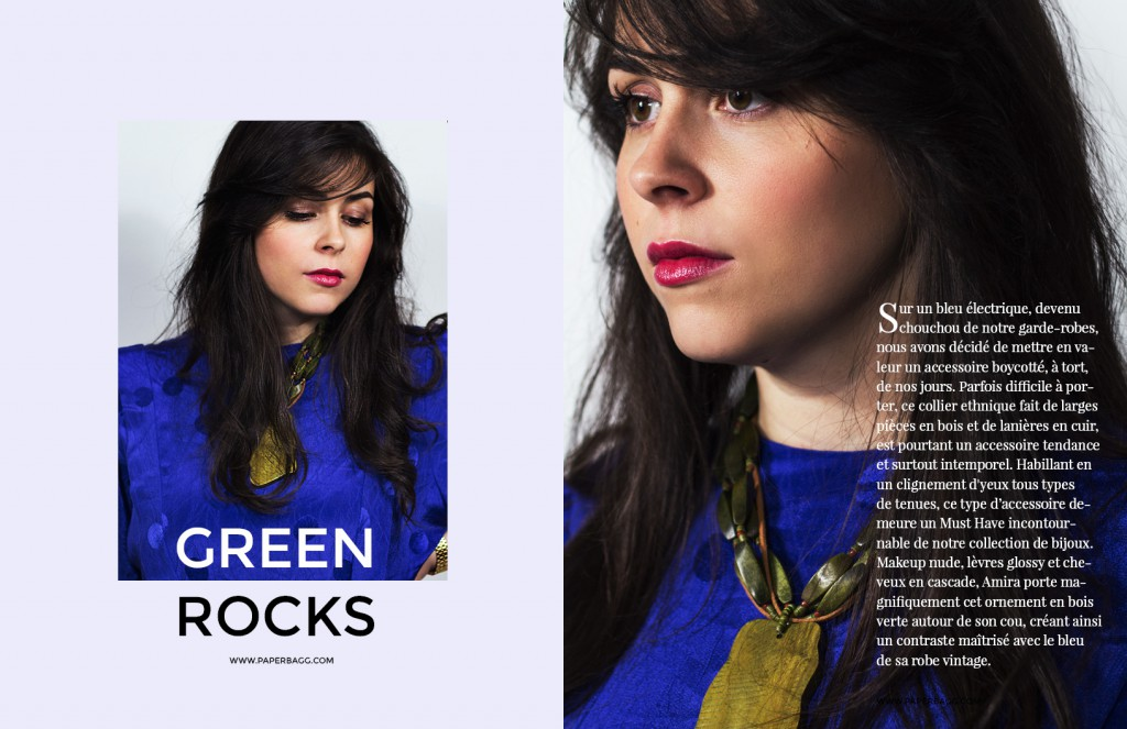 EDITORIAL Into Amira's Quiet world green rocks