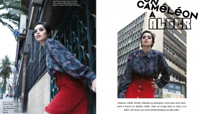 Fashion Editorial | Un Caméléon à Alger