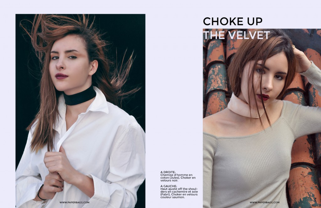 Choker Fashion editorial